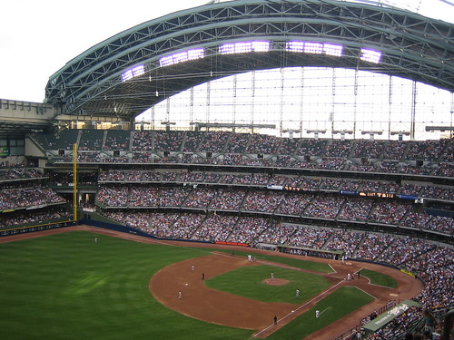 Miller Park from the Cheap Seats by compujeramey.