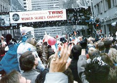 Minnesota Twins 1987 World Series Championship Parade