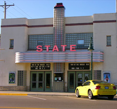 State Theater, Kasson, MN (Olivander) Tags: theater marquee vintage kasson statetheater building historic cinema us14