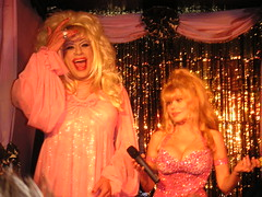 Charo was one of the few people I've ever seen who could take the mic away from Heklina (xander76) Tags: heklina charo trannyshack tranny dragqueen drag sanfrancisco geotagged geolat37772743 geolong122410163