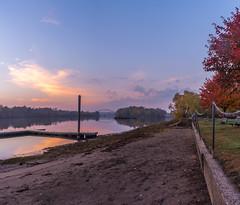 _DSC0280-Pano (johnjmurphyiii) Tags: 06416 autumn clouds connecticut connecticutriver cromwell dawn originalnef riverroad sky sunrise tamron18270 usa johnjmurphyiii