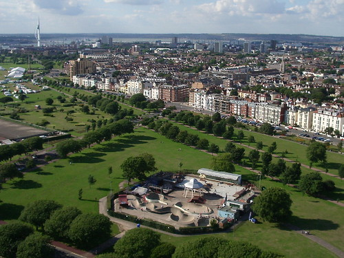 Southsea Common & the Skatepark por Marcus_H.