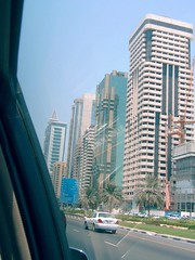 hello there Dubai (Emu stardust) Tags: ibn battuta mall dubai skyline outside buildings vacation vakantie emu stardust street straat car auto palm palmboom tree boom gebouwen bord sign sky lucht