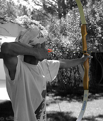 Archer (kartoffel) Tags: blackandwhite bw white holiday black sport cutout turkey top20favorites action target arrow archer itsongselection1 perfectingladolcevita addtoitsong itsong–canoneos300d weeklyff