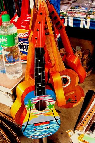 ukuleles