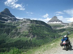 MT - Glacier, near Logan Pass