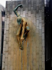 'River God Tyne' (Terry Wha) Tags: uk england sculpture bronze newcastle creativecommons civiccentre tyneside newcastleupontyne