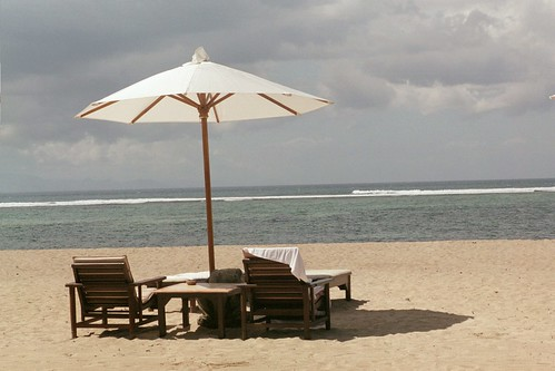 Tranquila playa de Sanur