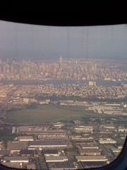 Empire State Building / NY from approaching Newark (panke21) Tags: newarklibertyinternationalairport newarkairport ewr newarkliberty newark newarknj nj newjersey airport empirestatebuilding ny newyork newyorkny nyc newyorkcity newyorkskyline nyskyline skyline hudson river