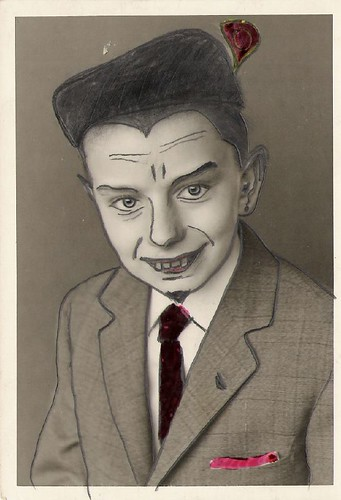 portrait of the artist as a young vampire