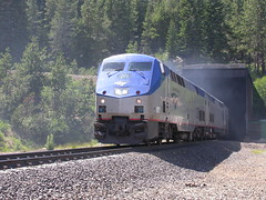 California Zephyr (So Cal Metro) Tags: tahoe donnerpass donnersummit donner california sierra sierras sierranevada tunnel mountain train railroad amtrak superliner zephyr californiazephyr locomotive generalelectric ge genesis