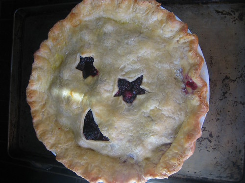 Blackberry pie (finished)