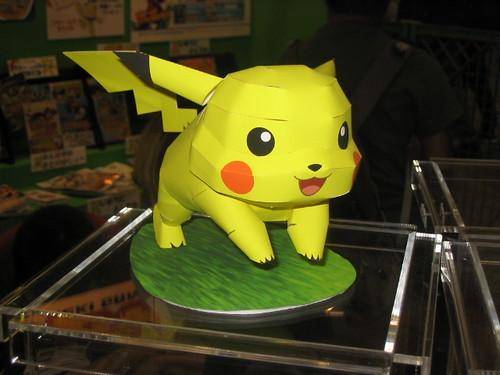 Tokyo: Origami Pikachu