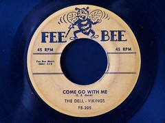 Fee Bee 205 - Come Go With Me - Dell-Vikings (Citroën Guy) Tags: 45 rpm delvikings original comegowithme rare dellvikings record