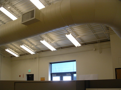 Old office - above the cubicle