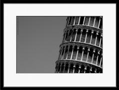 Leaning Tower (e X i t 1 3 p h o t o g r a p h y) Tags: italy white black tower europe pisa leaning leaningtower