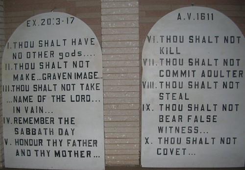 1-10 commandments