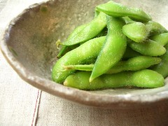 green soybeans / ??