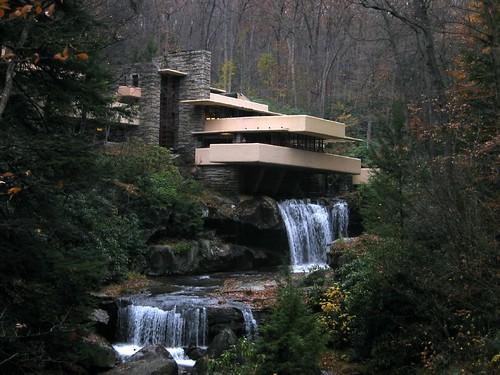 la casa Fallingwater