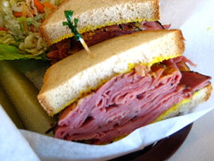 The (nearly) real deal 02. (hfabulous) Tags: vancouver restaurant deli bakery jewish nosh sollys pastrami sandwich coleslaw pickles review critic grandopening