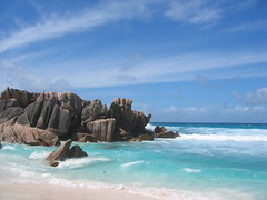 Beach View - La Digue - Seychelles - by tiarescott