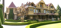 The entire Winchester Mystery House