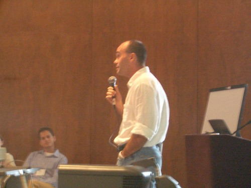 Peter Kollock at 2005 Group Processes meeting
