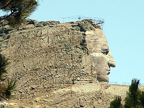 Chief Crazy Horse. Chief Crazy Horse Monument