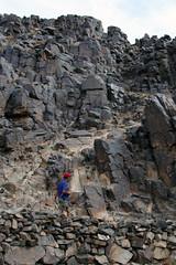 Carved From The Rock (MykReeve) Tags: mongolia gobidesert gobi desert petroglyphs bichigtkhad bayanmountainrange rock