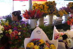 a fraction of the flowers (nordlys) Tags: seattle publicmarket flowers