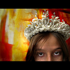 deep mourning ( Tatiana Cardeal) Tags: brazil portrait people girl brasil digital photography eyes mourning princess fairy silence crown tribute tatianacardeal generations fotografia topf100 politic brsil politicalart flickys selfknowledge excellenceinpoliticalart