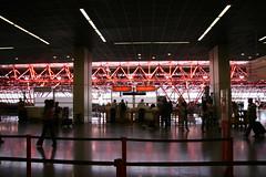 São Paulo airport, dark