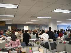 Office Party (redteam) Tags: 2005 california birthday party people west home work corporate prime la office los workers angeles desk sub cubicle hills business walls cells hive desks cubicles bulk drones cld lending loans westhills countrywide drudgery officeset subprime