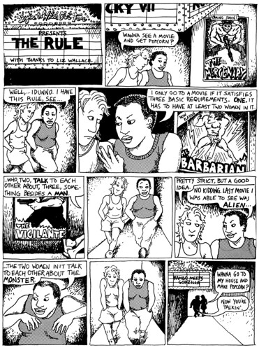 The Rule by Alison Bechdel.