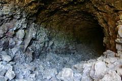 Skull Ice Cave Entrance (Beej Jorgensen) Tags: lavabeds lavabedsnationalmonument labe caving cave caves lavatube lavatubes skullicecave labetripaug2005