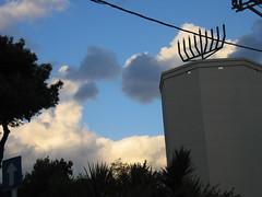 (Hamevugar) Tags: clouds hanukkiah