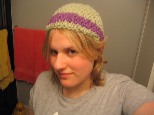 crochet beanie hat summer2005 august creative craft