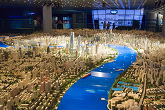 A model of Shanghai in 2020 (eugene) Tags: shanghai model city planning urban museum 2020