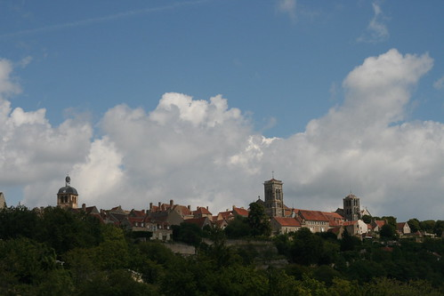 Vezelay in Burgundy France from afar by Fred Hsu, on Flickr
