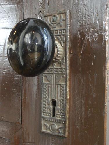 The door knob of St. John's Church ???????????