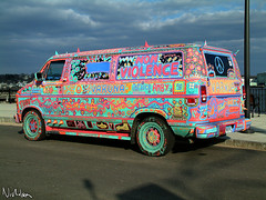 Peace Van (Ayton) Tags: peace varuna hippie hippy cnd antiwar pastel van newengland multicolor