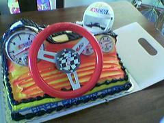 Nascar Cake Yeahh!