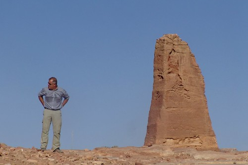 Fred with Obelisk, Petra