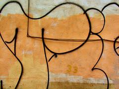 runes #2... (bruce grant) Tags: brown philadelphia ex graffiti steve ab wires gail walls accidental markings osfios oldcity fotogail umadestas fotovisit accidentalabex