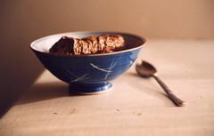 brown pudding (The Procrastinating Philosopher) Tags: brown spoon bowl korea crap gross poop shit disgusting poo disgust feces dung turd merde relativity scheisse ordure culturalrelativity coprophagy poopreport