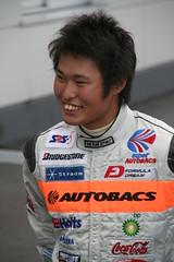 050827_3358 (Shin_s) Tags: motorsports motorracing formulanippon fujispeedway fisco f3 kodaitsukakoshi paddock interview