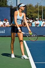 Hantuchova prepares to serve (eugene) Tags: hantuchova tennis usopen serve