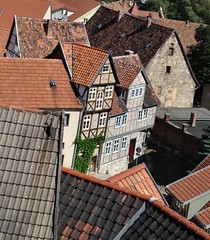 Quedlinburg (Gertrud K.) Tags: germany europe unesco halftimbered quedlinburg worldheritagelist saxonyanhalt