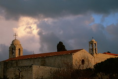 clearing skies (phool 4  XC) Tags: winter lebanon sun weather clouds seasons christian monastery orthodox balamand orthodoxchristian لبنان بيتربروباخر phool4xc