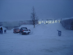 Wal-Mart in labrador city (eastick_east) Tags: labradorcity snow winter walmart